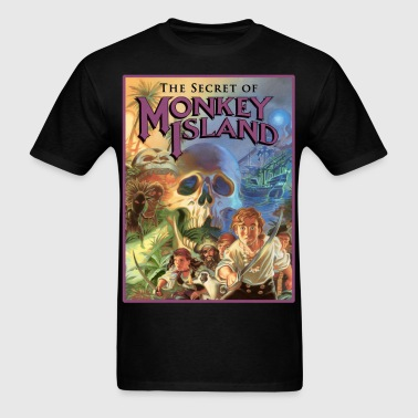 Monkey Island - Men's T-Shirt