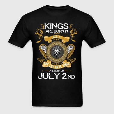 Kings Are Born In July 2nd - Men's T-Shirt