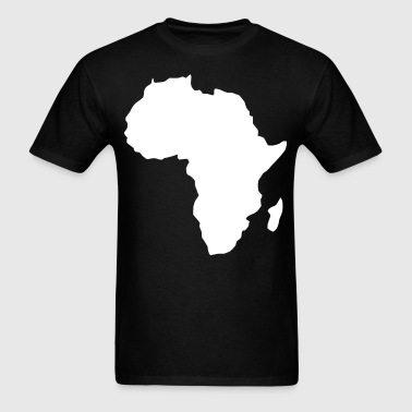 AFRICA MAP PLAIN - Men's T-Shirt