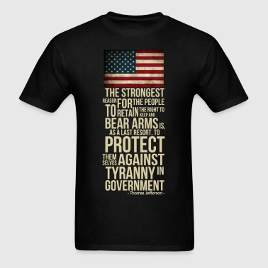 righ_to_bear_arms - Men's T-Shirt