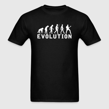 Bassist Evolution T-Shirt - Men's T-Shirt