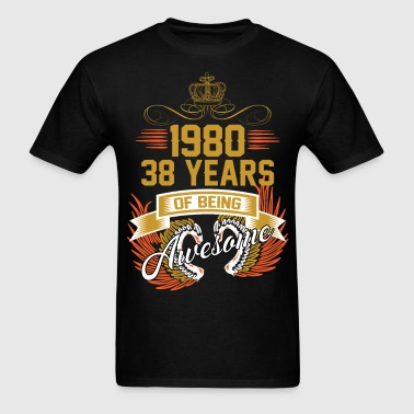 1980 38 Years Of Being Awesome - Men's T-Shirt