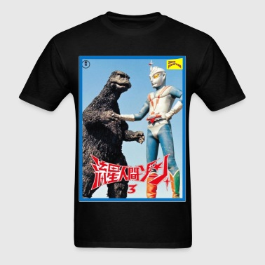 ZONE FIGHTER HANDSHAKE - Men's T-Shirt