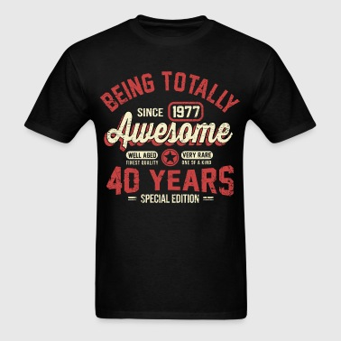 40 Years Of Being Awesome - Men's T-Shirt