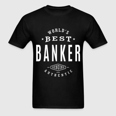Best Banker - Men's T-Shirt