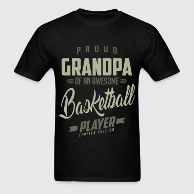Proud Grandpa Basketball Player. - Men's T-Shirt