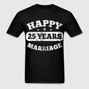 25 Years Happy Marriage - Men's T-Shirt