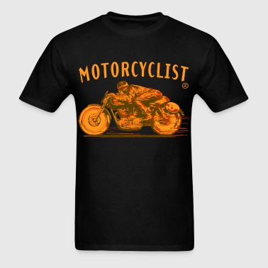 motorcyclist - Men's T-Shirt