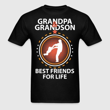 Grandpa And Grandson Best Friends For Life - Men's T-Shirt