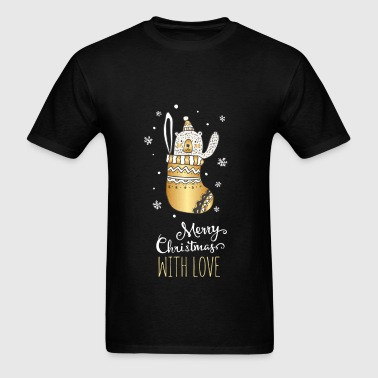 Christmas - Marry Christmas with love - Men's T-Shirt
