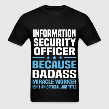 Information Security Officer - Men's T-Shirt
