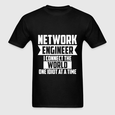Network Engineer - Network Engineer I connect the  - Men's T-Shirt