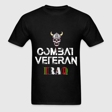 Iraq veteran - Combat Veteran - Iraq - Men's T-Shirt
