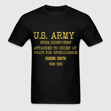 U.S. Army - U.S. Army Special Security Group attac - Men's T-Shirt