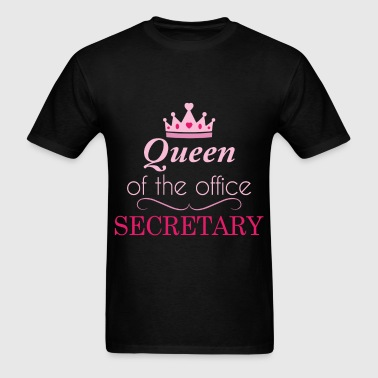 Secretary - Queen of the office - Secretary - Men's T-Shirt