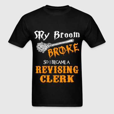 Revising Clerk - Men's T-Shirt