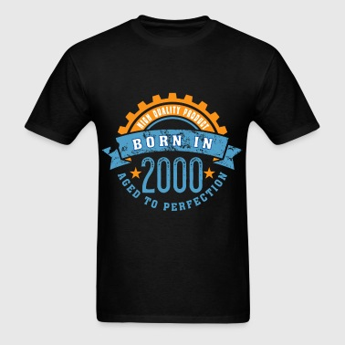 Born in the year 2000 a - Men's T-Shirt