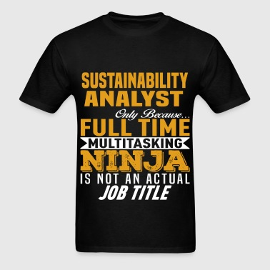 Sustainability Analyst - Men's T-Shirt