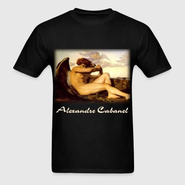 alexandre_cabanel__fallen_angel_blk - Men's T-Shirt