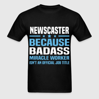 Newscaster - Men's T-Shirt