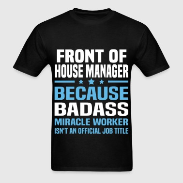 Front of House Manager - Men's T-Shirt