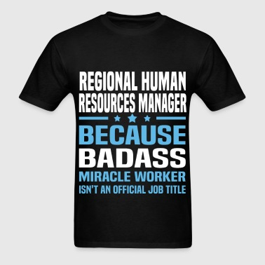 Regional Human Resources Manager - Men's T-Shirt