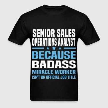 Senior Sales Operations Analyst - Men's T-Shirt