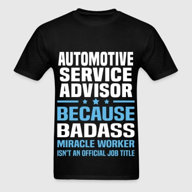 Automotive Service Advisor - Men's T-Shirt