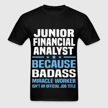 Junior Financial Analyst - Men's T-Shirt