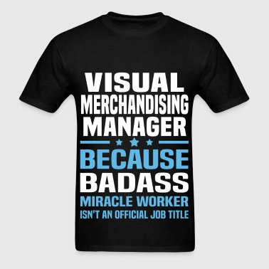 Visual Merchandising Manager - Men's T-Shirt