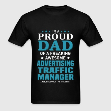 Advertising Traffic Manager - Men's T-Shirt