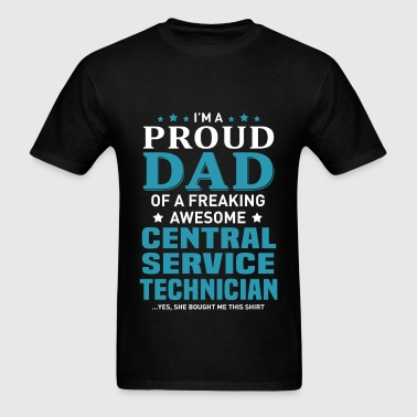 Central Service Technician - Men's T-Shirt