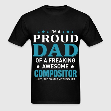 Compositor - Men's T-Shirt