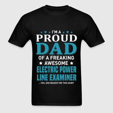 Electric Power Line Examiner - Men's T-Shirt