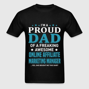 Online Affiliate Marketing Manager - Men's T-Shirt