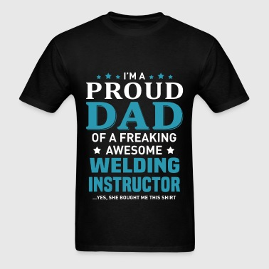 Welding Instructor - Men's T-Shirt
