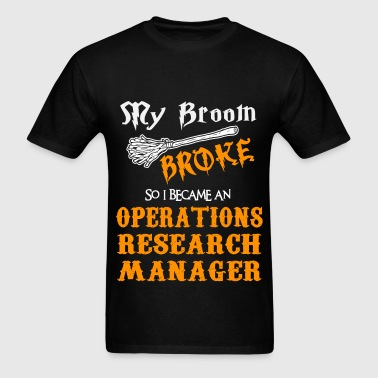 Operations Research Manager - Men's T-Shirt