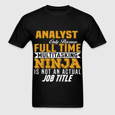 Analyst - Men's T-Shirt