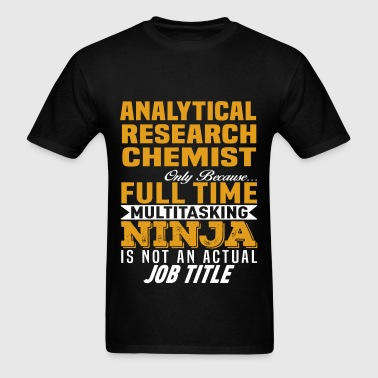 Analytical Research Chemist - Men's T-Shirt