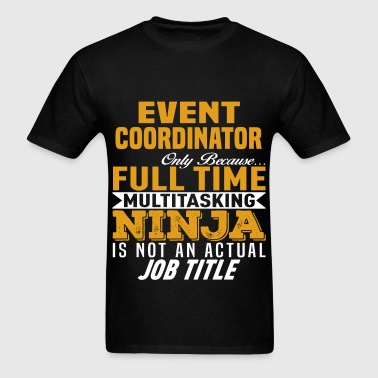 Event Coordinator - Men's T-Shirt