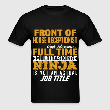 Front of House Receptionist - Men's T-Shirt