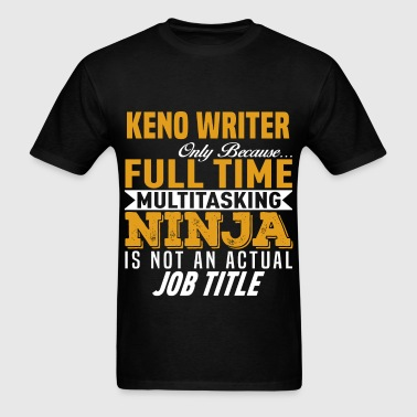 Keno Writer - Men's T-Shirt