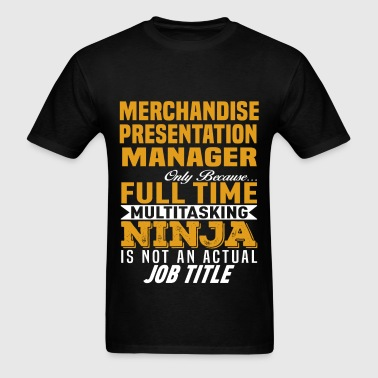 Merchandise Presentation Manager - Men's T-Shirt
