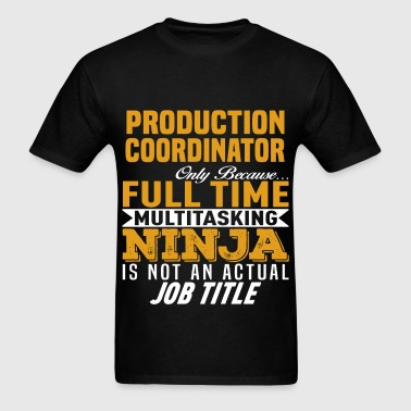 Production Coordinator - Men's T-Shirt