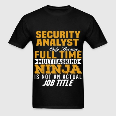 Security Analyst - Men's T-Shirt