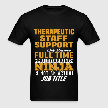 Therapeutic Staff Support - Men's T-Shirt