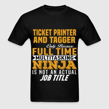 Ticket Printer And Tagger - Men's T-Shirt