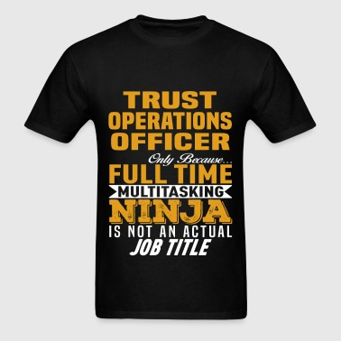 Trust Operations Officer - Men's T-Shirt