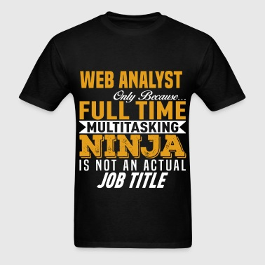 Web Analyst - Men's T-Shirt