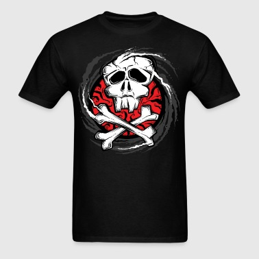 vortex of piracy - Men's T-Shirt